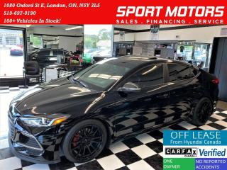 Used 2018 Hyundai Elantra Sport Tech Turbo+Roof+Leather+GPS+ACCIDENT FREE for sale in London, ON