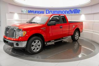 Used 2011 Ford F-150 XLT 4X4 + GARANTIE + A/C + MAGS + CRUISE for sale in Drummondville, QC