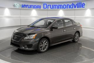 Used 2014 Nissan Sentra SR + GARANTIE + NAVI + TOIT + CAMERA + W for sale in Drummondville, QC