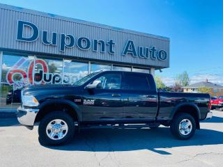 Used 2017 RAM 2500 Cabine multiplaces 4RM, 149 po ST for sale in Alma, QC