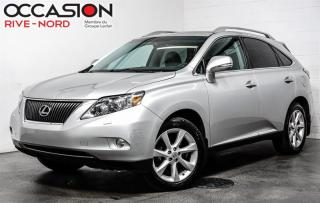 Used 2011 Lexus RX 350 AWD GPS-TOIT-CUIR GARANTIE 1 AN for sale in Boisbriand, QC