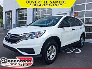 Used 2015 Honda CR-V LX * GARANTIE 10 ANS / 200 000 KM* for sale in Donnacona, QC