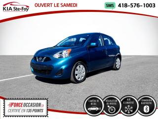 Used 2019 Nissan Micra * SV* CAMERA* BLUETOOTH* UN SEUL PROPRIO for sale in Québec, QC