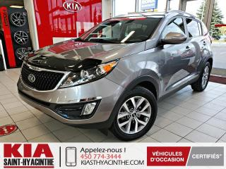 Used 2015 Kia Sportage EX * CAMÉRA DE RECUL / SIÈGES CHAUFFANTS for sale in St-Hyacinthe, QC