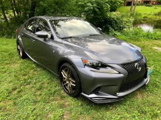 Used 2016 Lexus IS 350 F  SPORT $126.00 Weekly for sale in Perth, ON