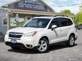 Used 2014 Subaru Forester i Touring,AWD,ONE OWNER,LOW KM,R/V CAM,B.TOOTH for sale in Orillia, ON
