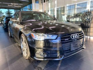 Used 2016 Audi A6 3.0T Technik S-LINE, ACCIDENT FREE, HEATED STEERING WHEEL AND VENTED LEATHER SEATS, NAVI, SUNROOF for sale in Edmonton, AB