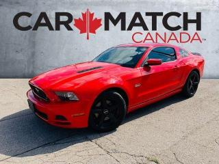 Used 2014 Ford Mustang GT / LEATHER / NO ACCIDENTS for sale in Cambridge, ON