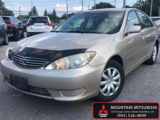 Used 2005 Toyota Camry LE  -  - Air - Tilt - Balance of Factory Warranty for sale in Hamilton, ON