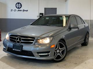 Used 2014 Mercedes-Benz C300 4-MATIC NAV|BACK UP|AMG RIMS|ATT. ASSIST|BT AUDIO| for sale in Oakville, ON