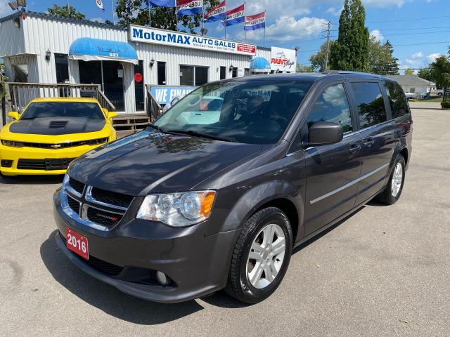 2016 Dodge Grand Caravan Crew Plus-Navi-Lthr-We Finance