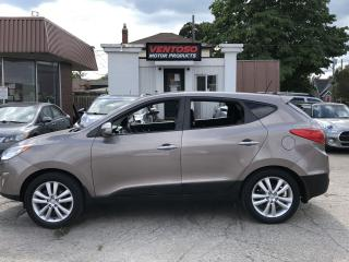 Used 2012 Hyundai Tucson Limited w/Nav for sale in Cambridge, ON
