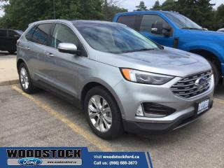 Used 2020 Ford Edge Titanium  - $281 B/W for sale in Woodstock, ON
