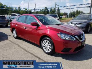 Used 2019 Nissan Sentra SV CVT   - $133 B/W 4 BRAND NEW TIRES for sale in Woodstock, ON