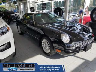 Used 2004 Ford Thunderbird PREMIUM W/HARDTOP  ONLY 35,022Km LOCAL OWNED, ONE OWNER,ALL ORIGINAL ***WOW*** for sale in Woodstock, ON