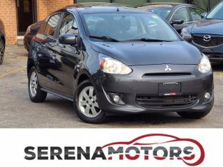 Used 2014 Mitsubishi Mirage SE | 1.2L | MANUAL | HEATED SEATS | ONE ONWER for sale in Mississauga, ON