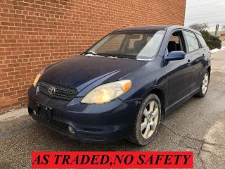 Used 2004 Toyota Matrix XR/SUNROOF