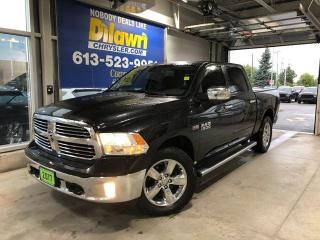 Used 2017 RAM 1500 Big Horn Crew Cab 4X4 | Heated Bucket Seats & 3.92 for sale in Nepean, ON