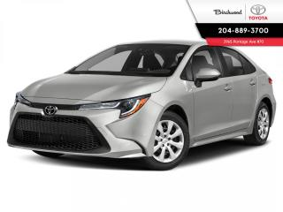New 2021 Toyota Corolla LE STANDARD PKG for sale in Winnipeg, MB