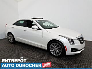 Used 2018 Cadillac ATS Sedan Luxury AWD NAVIGATION - Toit Ouvrant - CUIR for sale in Laval, QC
