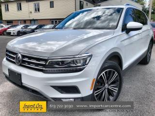 Used 2018 Volkswagen Tiguan Highline LEATHER  ROOF  NAVI  BLIS for sale in Ottawa, ON