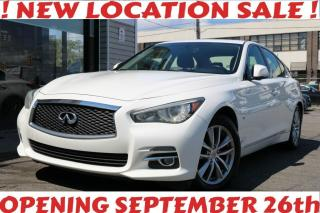 Used 2014 Infiniti Q50 AWD, Navi, Leather, Roof, Camera, Bose Sound System, Alloys for sale in North York, ON