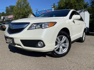 Used 2015 Acura RDX AWD 4dr ACCIDENT FREE ONE OWNER ! for sale in Brampton, ON