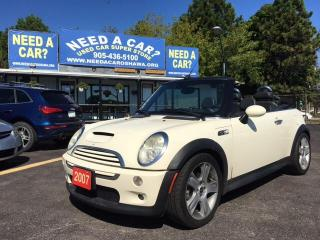 Used 2007 MINI Cooper S Base for sale in Oshwa, ON