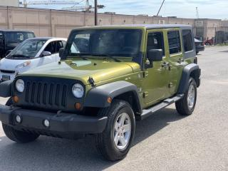 Used 2008 Jeep Wrangler 4WD 4dr Unlimited X /6 MONTH WARRANTY INCULDED for sale in Brampton, ON