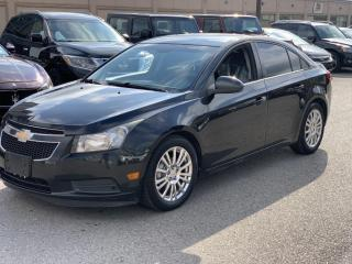 Used 2011 Chevrolet Cruze LOADED 4dr Sdn Eco w/1SA \6 MONTH WARRANTY INCULDED for sale in Brampton, ON
