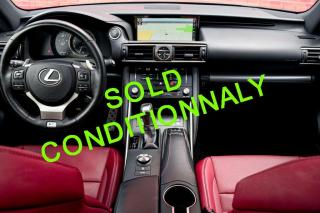 Used 2017 Lexus IS 300 AWD.RED INTERIOR. F SPORT 2. NO ACCIDENTS. CLEAN CARFAX. for sale in Mississauga, ON