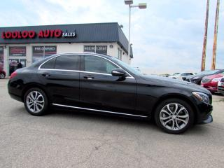 Used 2015 Mercedes-Benz C-Class C300 4MATIC AWD NAVIGATION CAMERA CERTIFIED for sale in Milton, ON