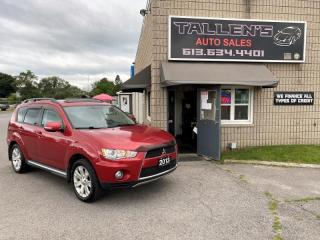 Used 2013 Mitsubishi Outlander GT 7 Passenger for sale in Kingston, ON