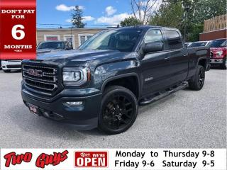 Used 2017 GMC Sierra 1500 SLE Elevation | Z71 | 5.3L V8 4x4 | Crew | for sale in St Catharines, ON