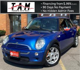 Used 2006 MINI Cooper S Sunroof Leather Heated Seats One Owner Low KM! for sale in North York, ON