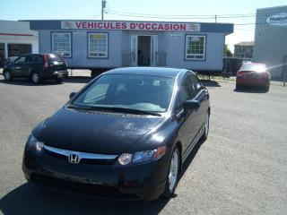 Used 2007 Honda Civic LX for sale in St-Jean-Sur-Le-Richelieu, QC