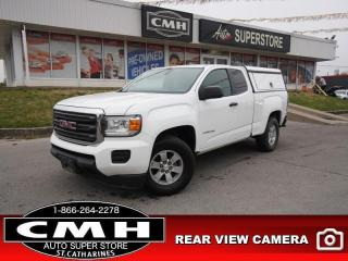 Used 2015 GMC Canyon Base  V6 CAM BT BUCKETS PWR-GROUP MANUAL for sale in St. Catharines, ON
