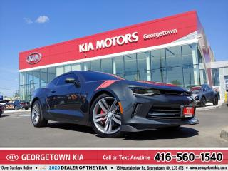 Used 2017 Chevrolet Camaro 1LS | CLEAN CARFAX | ROOF | HTD SEATS| BU CAM | BT for sale in Georgetown, ON