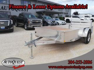 Used 2020 stronghaul Utility Trailer  66 x 12' Solid Side Aluminum for sale in Winnipeg, MB