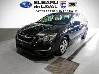Used 2016 Subaru Impreza 2,0i Awd Berline for sale in Laval, QC