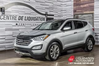 Used 2014 Hyundai Santa Fe Sport SE AWD + TOIT PANO. + CUIR + CAM. RECUL for sale in Laval, QC