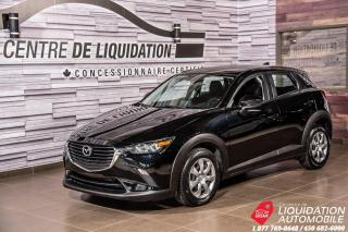 Used 2017 Mazda CX-3 GX AWD + BLUETOOTH + AIR CLIM. + PUSH START for sale in Laval, QC