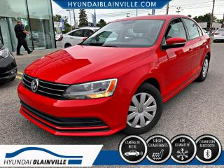Used 2015 Volkswagen Jetta TRENDLINE + BANCS CHAUFFANTS, BLUETOOTH, for sale in Blainville, QC