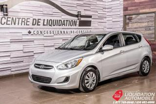 Used 2016 Hyundai Accent GL+GR ELECTRIQUE+AIR CLIM+BANCS CHAUFFANTS for sale in Laval, QC