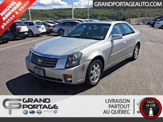 Used 2005 Cadillac CTS Berline 4 portes 3,6 L for sale in Rivière-Du-Loup, QC