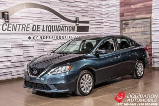 Used 2017 Nissan Sentra SV+CAMERA DE RECUL+AIR CLIM+GR ELECTRIQUE for sale in Laval, QC