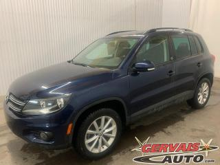 Used 2017 Volkswagen Tiguan Wolfsburg Edition 4MOTION Cuir Caméra Mags for sale in Trois-Rivières, QC