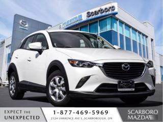 Used 2018 Mazda CX-3 1.5%@FINANCE|CPO|GX|1 OWNER CLEAN CARFAX for sale in Scarborough, ON