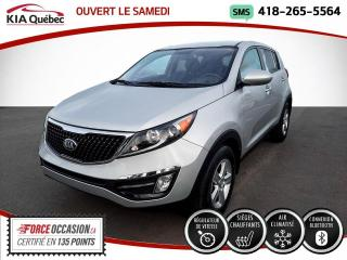 Used 2016 Kia Sportage LX* SIEGES CHAUFFANTS* A/C* BLUETOOTH* for sale in Québec, QC