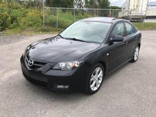 Used 2008 Mazda MAZDA3 2008 Berline 4 portes, boîte automatique for sale in Québec, QC